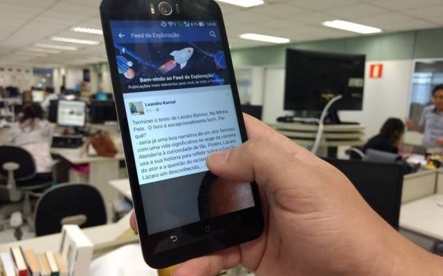 Novo recurso do Facebook pode ser acessado no menu lateral da rede social, apenas nas versões do aplicativo da empresa para dispositivos móveis