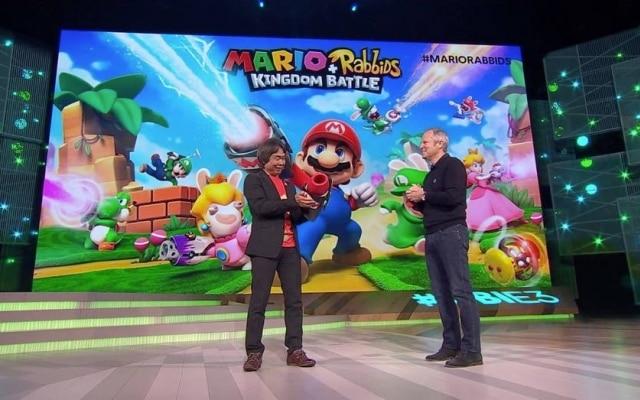 Mario + Rabbids: Kingdom Battle é um game que mistura o encanador bigodudo da Nintendo com os irreverentes coelhos da Ubisoft. Sai em agosto para o Switch