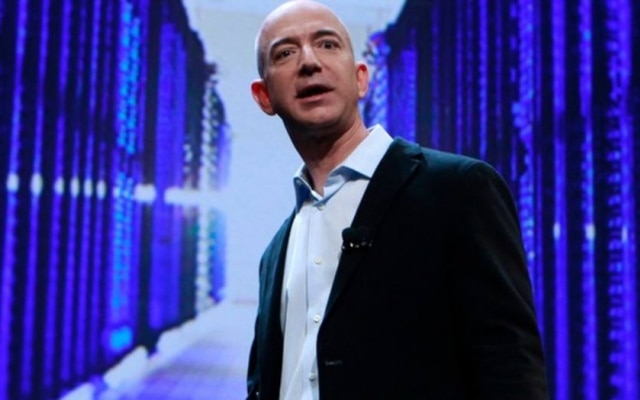 Jeff Bezos, o presidente executivo e fundador da Amazon