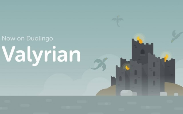 Curso de Alto Valiriano foi disponibilizado no aplicativo Duolingo e já conta com mais de 30 mil inscritos