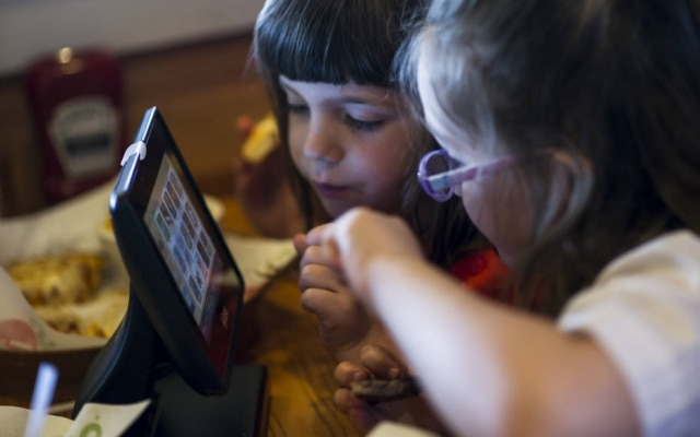 Crianças se tornam alvo de fabricantes de tablet