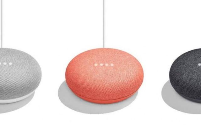 Nova versão do alto-falante inteligente do Google se chamará Home Mini e virá em três cores diferentes.