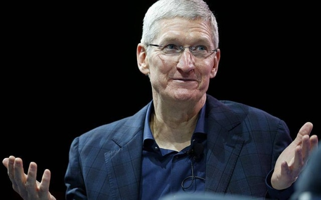 Tim Cook, presidente executivo da Apple