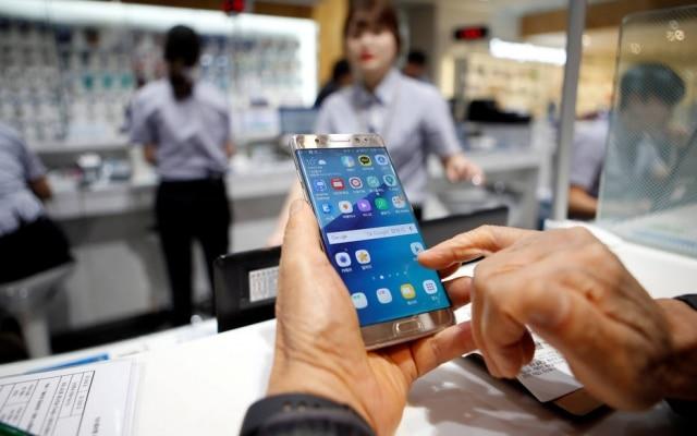 Smartphone da SamsungGalaxy Note 8 chega ao Brasil dois meses após o lançamento mundial