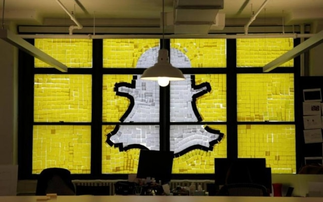 A Sanp é dona do aplicativo de mensagens efêmeras Snapchat
