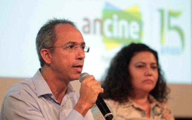Manoel Rangel, presidente da Ancine, durante o lançamento do edital de games brasileiros