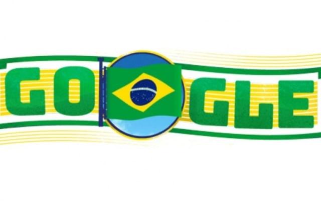 Doodle lembra os 195 anos da Independência do Brasil