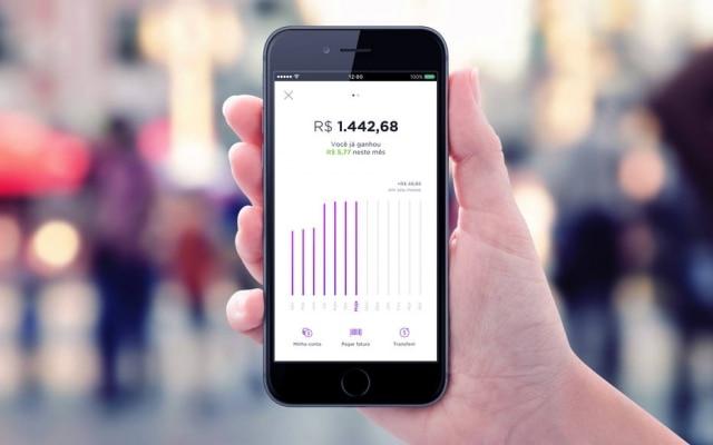 Nubank lança NuConta, banco virtual sem taxas focado em investimentos