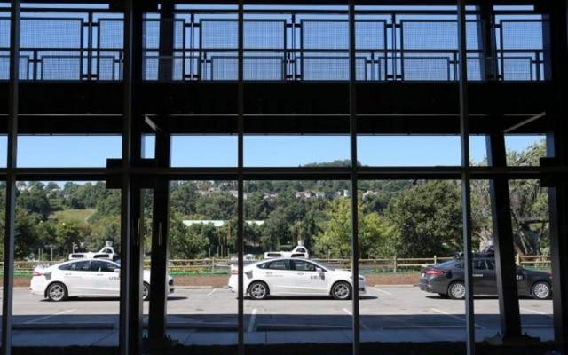 O Uber já conta com quatro carros sem motoristas em sua frota