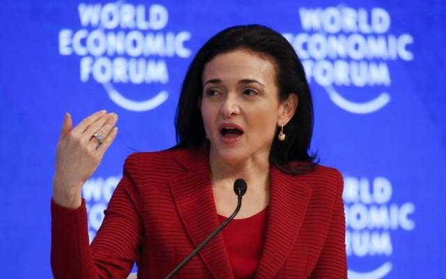 Sheryl Sandberg, diretora de operações do Facebook