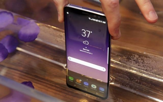 O novo Galaxy S8 também tem resistência à prova d'água, com padrão IP 68.