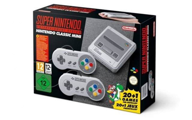 Console Super Nintendo Mini custará US$ 80 nos Estados Unidos