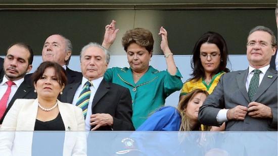 Dilma jogo