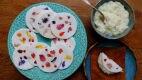 Tapioca de flores com recheio de coco Divulgação