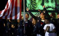 Astros do esporte que foram porta-bandeiras