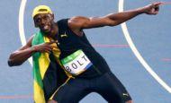 Bolt é tricampeão olímpico dos 100m