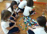 Os alunos de K5 e as suas preciosas coleções