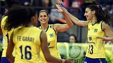 Brasil vence República Dominicana pela segunda vez - Gaspar Nobrega/Inovafoto/CBV
