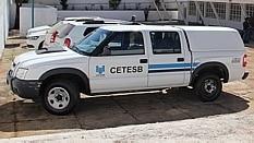Técnicos de emergências químicas da Cetesb acompanharam a ação - Divulgação