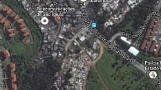 A favela onde aconteceu o incêndio se localiza perto da Avenida Deputado Cantídio Sampaio - Google Street View/Reprodução