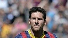 Messi, jogador do Barcelona - AFP