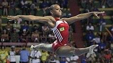 Rebeca Andrade é a principal esperança da nova geração da ginástica feminina brasileira - Ricardo Bufolin/CBG