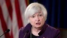 Presidente do Fed, Janet Yellen: alta dos juros pode estar mais próxima   - AP