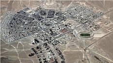 Estádio El Cobre fica no meio do deserto do Atacama - Divulgação