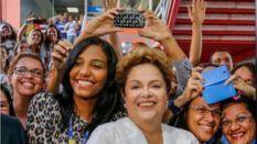 Dilma visitou Salvador - Divulgação