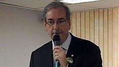 Eduardo Cunha em encontro na Força Sindical - Jaélcio Santana/Estadão