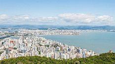 Vista de Florianópolis, capital de Santa Catarina - Fotos Públicas