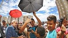 Ex-presidente citou preconceito de classe ao recordar as visitas que fez a unidades entregues pelo programa Minha Casa Minha Vida - Ricardo Stuckert/Instituto Lula