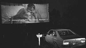 Casais lotavam o autocine Chaparral nos anos de 1970 - Oswaldo Luiz Palermo/ Estadão