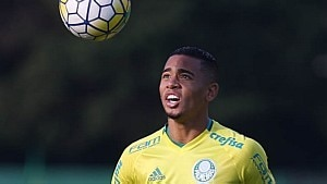 Nome de Gabriel Jesus foi descartado para substituir Douglas Costa - Cesar Greco/Ag. Palmeiras