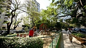 Praça Pereira Coutinho - Estadão