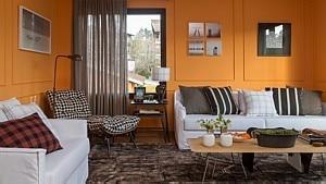 Sala em projeto do escritório In House - Evelyn Müller/Divulgação