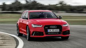 Aceleramos a perua Audi RS6 Avant, que traz motor biturbo de 560 cv
