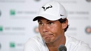 Rafael Nadal revela que o problema ficou mais grave após a última partida - Miguel Medina/AFP