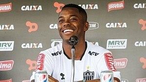 Robinho faz primeiro treino no Atlético-MG - Bruno Cantini/Divulgação