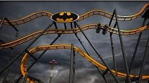 Montanha-russa do Batman - Divulgação
