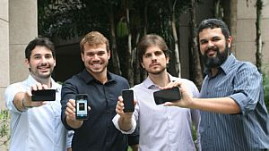 Fundadores da rede Colab.re - Divulgação