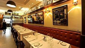 A alta gastronomia nos refinados restaurantes do bairro  - Divulgação