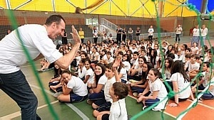 Projeto do Estado chega a escola em SP - Clayton de Souza/ Estadão