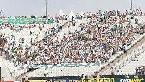 Cerca de 1.800 palmeirenses foram à Itaquera - Alex Silva/ Estadão