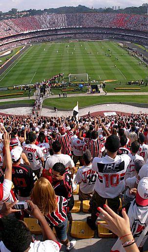 Divulgação - Estádio do São Paulo