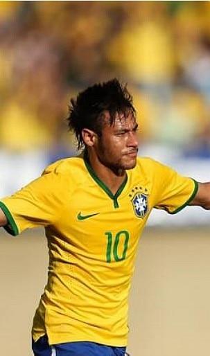 EFE - Neymar será o 11º camisa 10 do Brasil e tenta quebrar jejum