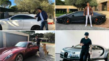 De Camaro a Bugatti: confira a coleção de carros do craque Cristiano Ronaldo