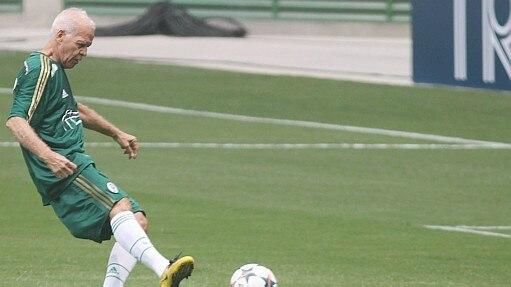 Ademir fez o primeiro gol do Allianz Parque - Felipe Rau/Estadão