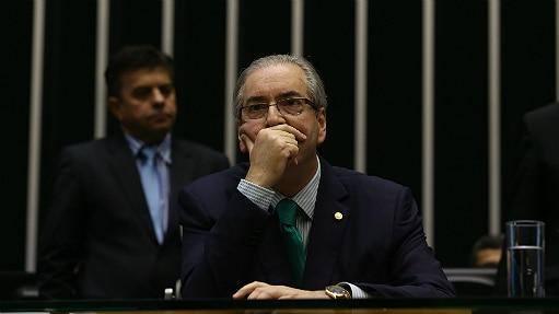"""Cunha diz estar confiante de que a CCJ vai anular a decisão do conselho de Ética """"para não criar um precedente perigoso"""" - André Dusek/Estadão"""