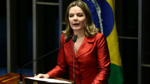 Gleisi Hoffmann (PT-PR) - Wilton Júnior/Estadão